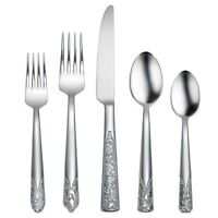 Oneida Durango 45 Piece Casual Flatware Set, Service For 8 on sale