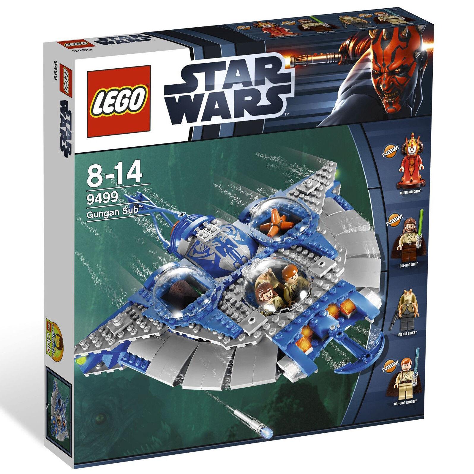 Lego Star Wars  Gungan Sub (9499)