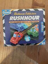 ThinkFun Rush Hour Traffic Jam Logic Game Deluxe
