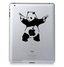 BANKSY PANDA. Apple iPad Mac Macbook Sticker Vinyl decal. Custom colour