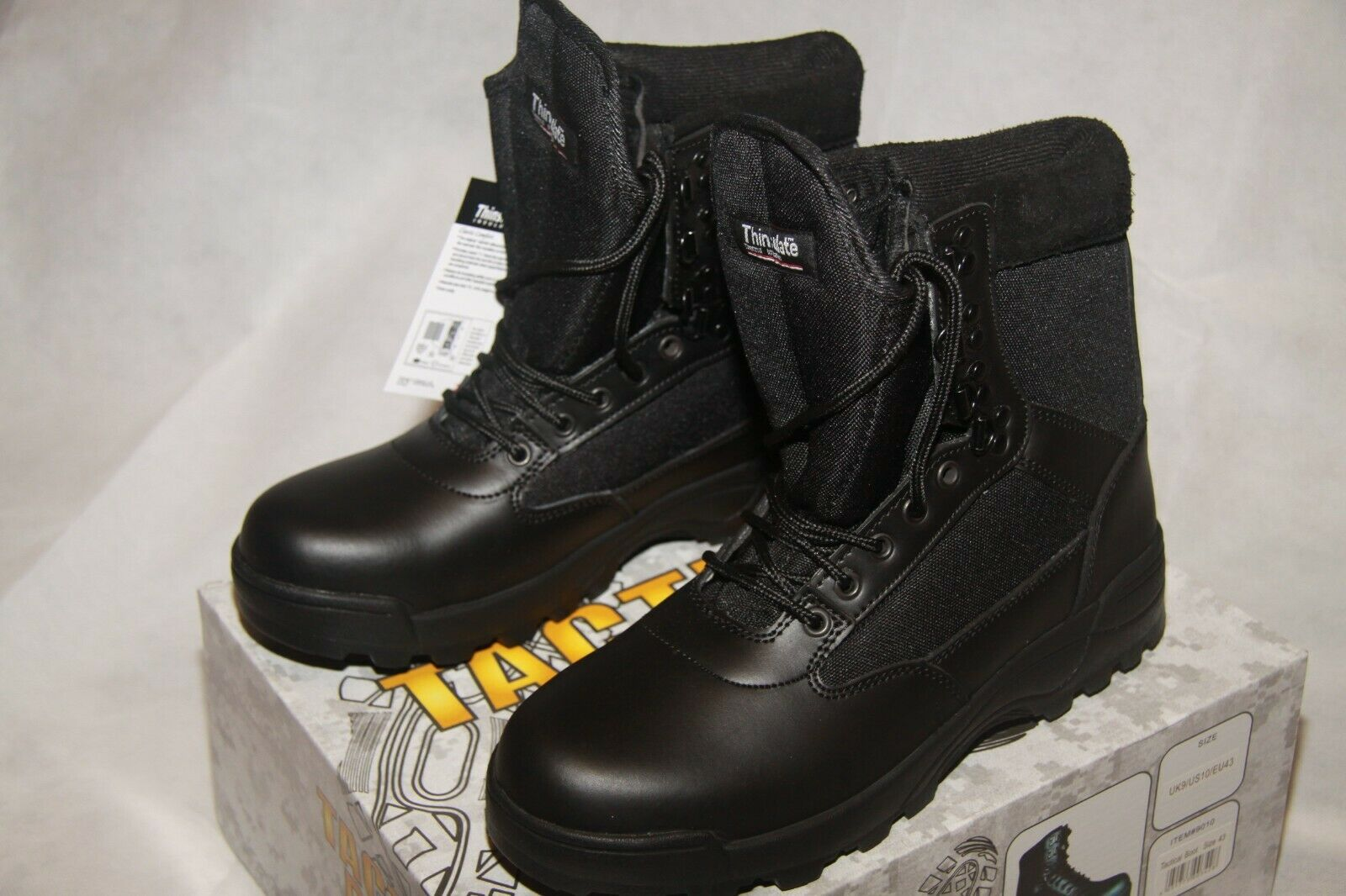 Brandit Tactical Military Combat Stiefel Thinsulate BRAND NEW IN BOX Größe 43