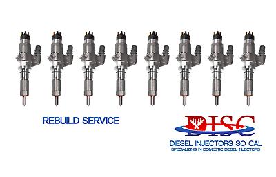2006-2007 6.6 Duramax LBZ Injector Rebuild Kit With Tools