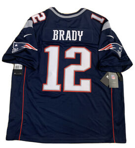Details about New Tom Brady 2X Mens New England Patriots Navy Vapor Limited Nike Jersey NWT