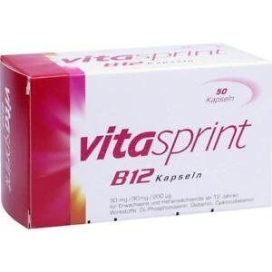 Vitasprint B12 Kapseln   50 st    PZN 4909546
