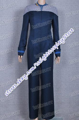 Star Trek Uniform The Next Generation Cosplay Deanna Troi Costume Halloween
