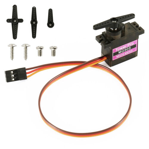 1//2//5//10-pack MG90S Micro Metal Gear 9g Servo for RC Plane Helicopter Boat Car