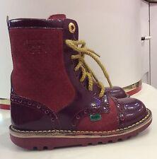 Kids Pink/Purple Kickers Boots Size Eu 29 / Uk 11.5