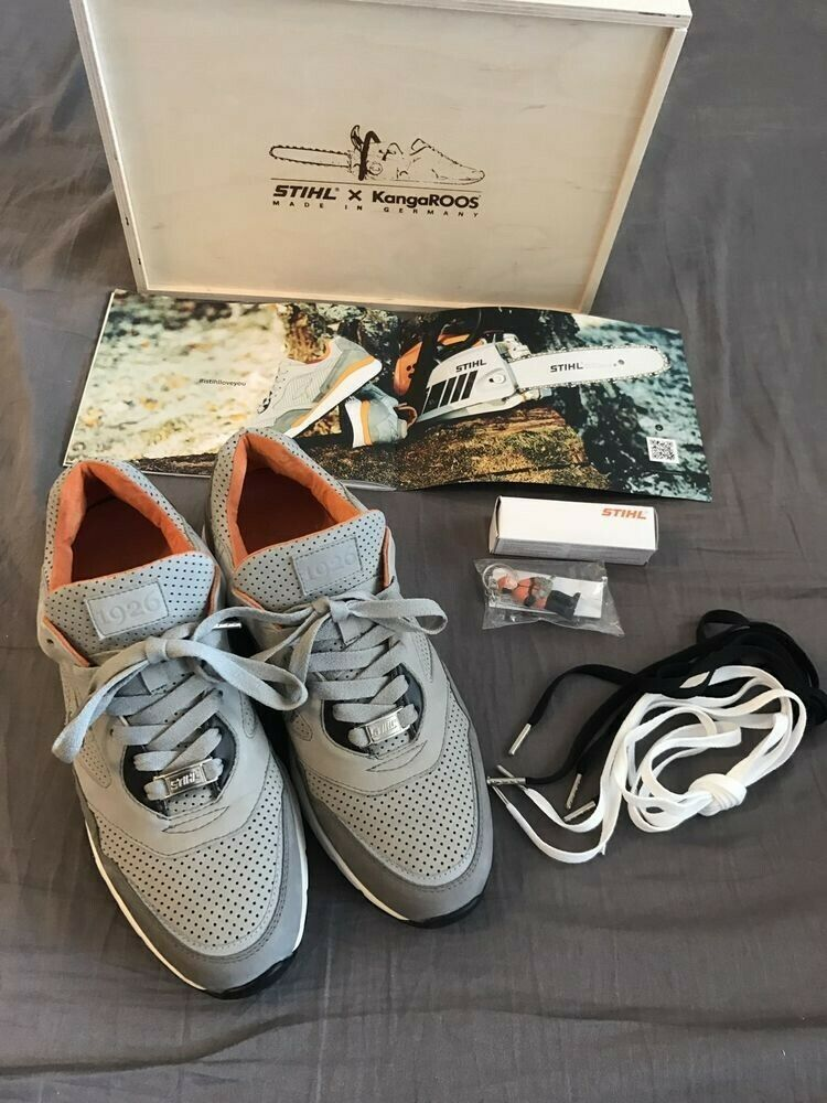 Kangaroos X Stihl EXTREMELY RARE ONLY 400 PAIRS MADE Mens 11.5