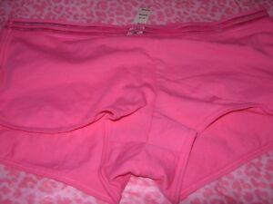 a4d4ab433f2ab Details about Victoria's Secret VS Lingerie Intimate Shortie Boyshort  Shorty Pink MEDIUM NWT