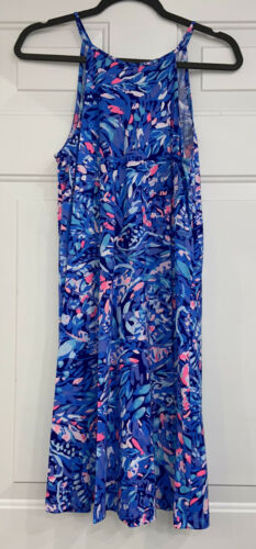 Preowned Lilly Pulitzer Party Wave Margot Swing Dr