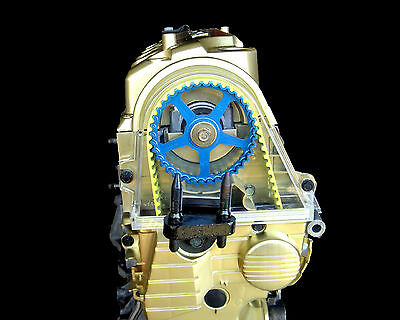 Honda Civic CLEAR Timing Cover! D17 Engines Show Those Gears!!