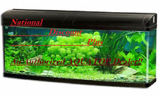 FB 830 AQUATOP Aquarium Fish Tank 35 Gallon Bowfront FB-830 Black FREE SHIPPING