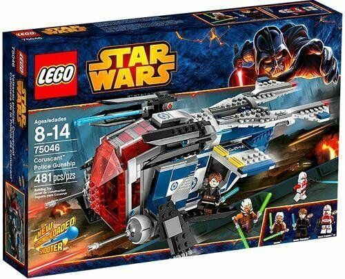 LEGO® Star Wars™ 75046 Coruscant™ Police Gunship NEU OVP  | Lebendige Form