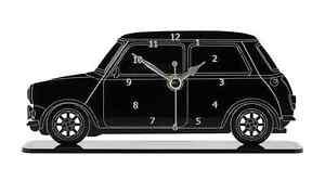 Mini-Cooper-Car-Side-View-Mantel-Clock-Acrylic-Made-in-Cornwall-MC-B-MIS01