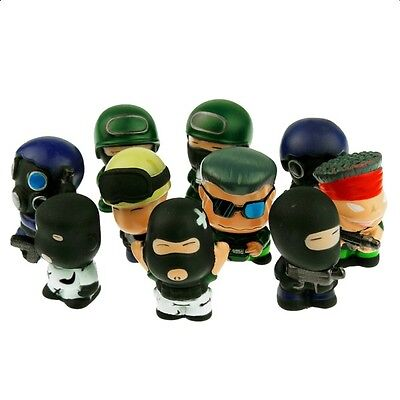 Responsabile Pack 10 Figuras Counter Strike Figures Pack X 10. 5cm A1691 Da Processo Scientifico