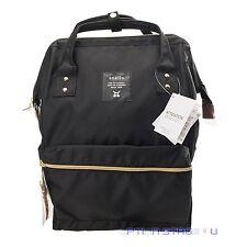 Anello Official Black Japan Unisex Fashion Backpack Rucksack Diaper Travel Bag