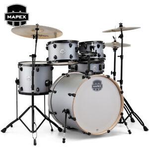 Mapex-STORM-5-Piece-Rock-Full-Size-Drum-Set-Iron-Grey-Finish-ST5295FBIG