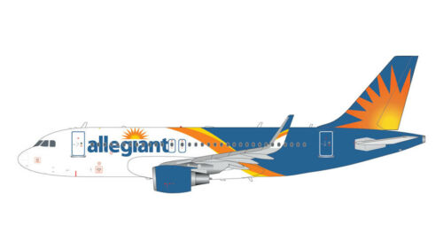 S GEMINI JETS ALLEGIANT AIRLINES AIRBUS A319 1:200 DIE-CAST G2AAY663 IN STOCK