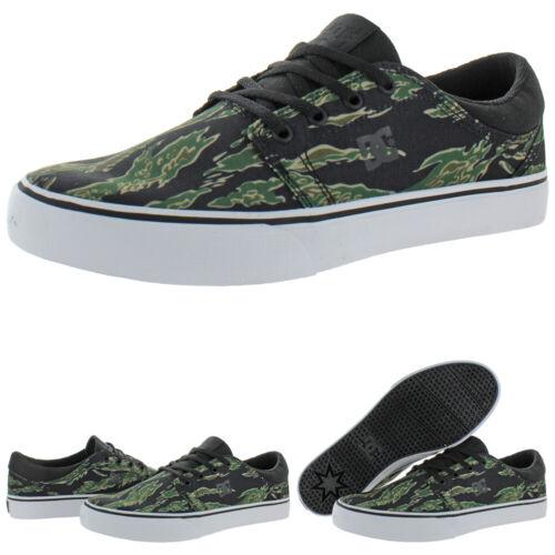 DC Shoes Men/'s Trase TX SE Canvas Low Top Vulcanized Casual Skate Shoes