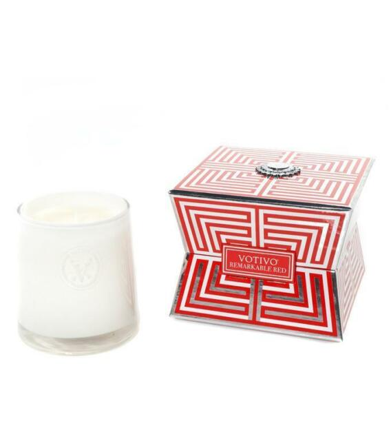 Soziety Collection Boxed Candle Remarkable Red VOTSZCANRED