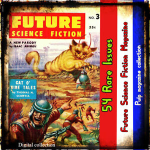 Future-Science-Fiction-Action-adventure-Very-Rare-collection-54-issues