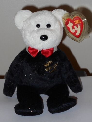 Ty Beanie Baby ~ COUNTDOWN the Bear 10, 9, 8 Version MWMT Internet Exclusive