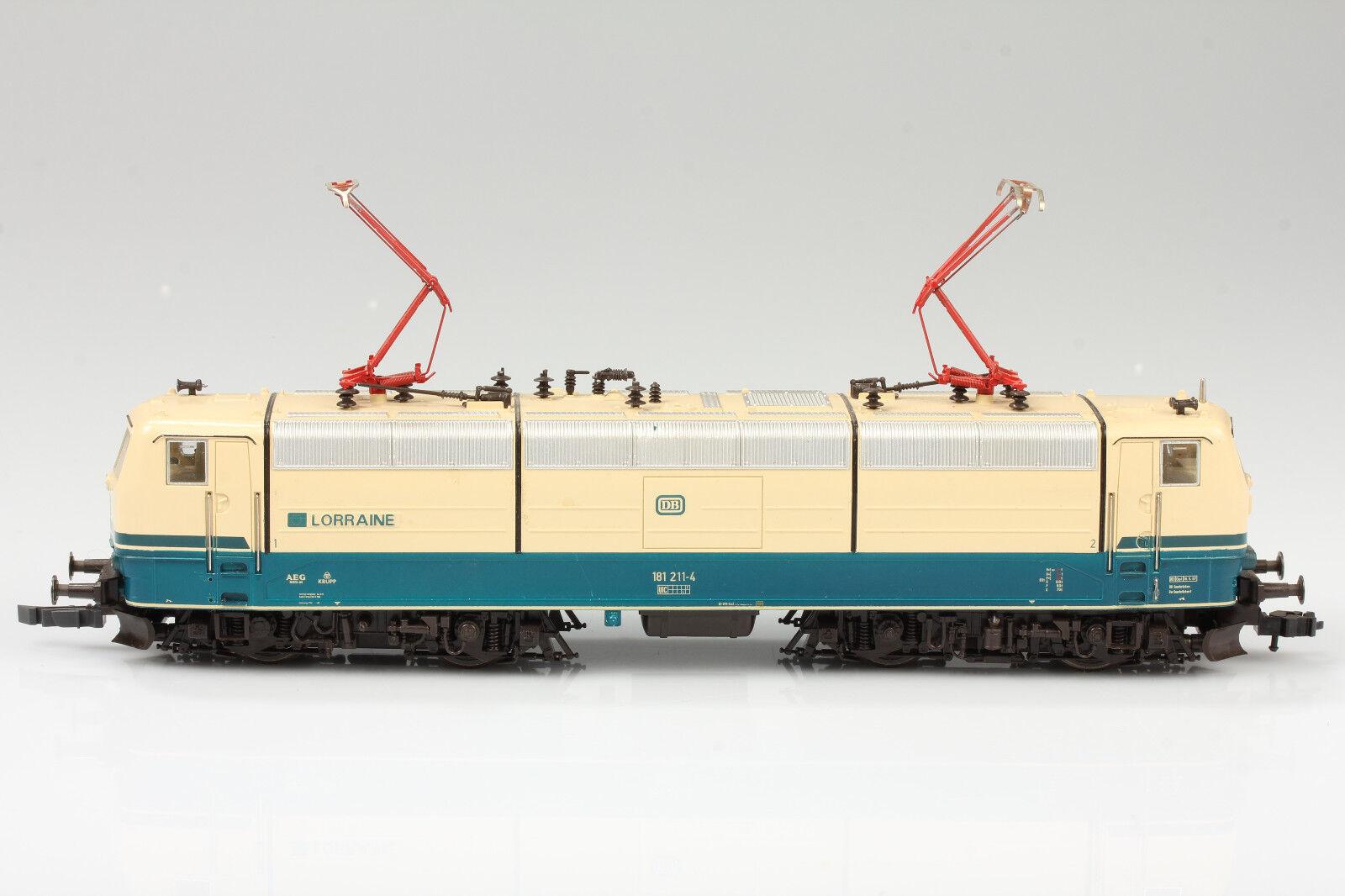presa di marca ROCO h0 43692 E-Lok DB BR 181.2 181.2 181.2 corre utilizzabile-sporco GRAFFI autoenze con OVP  risparmia fino al 70% di sconto