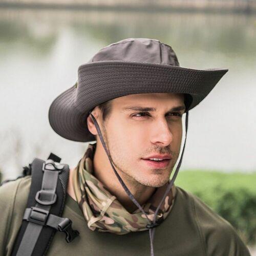 Bucket Hat Boonie Hunting Fishing Outdoor Cap Wide Brim Military Unisex Sun Hats