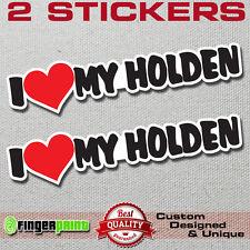HOLDEN LOVE decal vinyl sticker GTR Commodore sport logo v8 ve vf turbo hsv SS