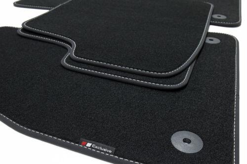 2007 Exclusive-line Design Fußmatten für Fiat 500 Bj