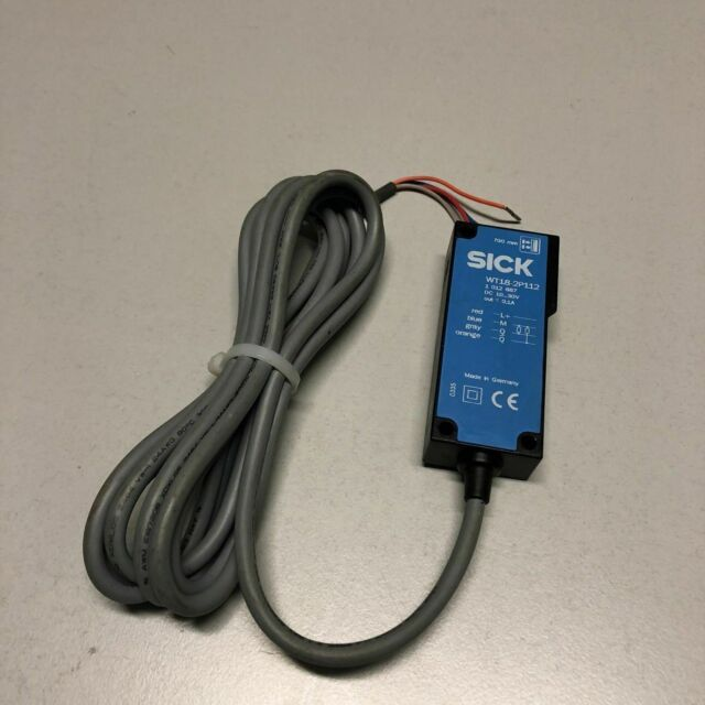 Mint Condition SICK WT18-2P112 PHOTOELECTRIC PROXIMITY SENSOR 10-30VDC JO^2