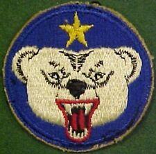 WW2 Alaskan Defense Command Patch
