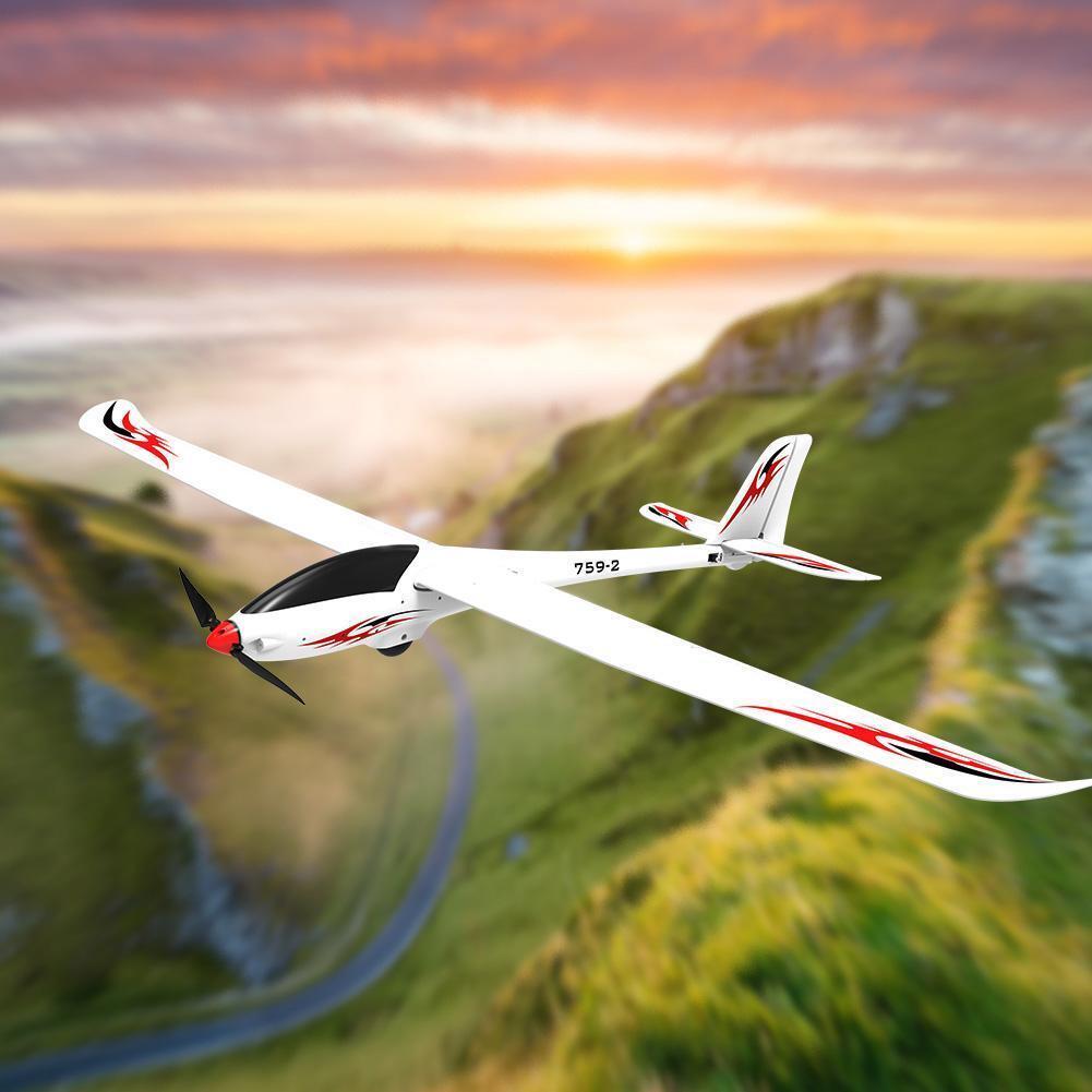 Volantex Phoenix V2 759-2 Planeador de ala fija 2000mm envergadura BL 4023 1050KV Motor
