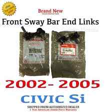 2002- 2005 Honda CIVIC Si (3-DOOR) Genuine OEM Front Sway Bar End Links