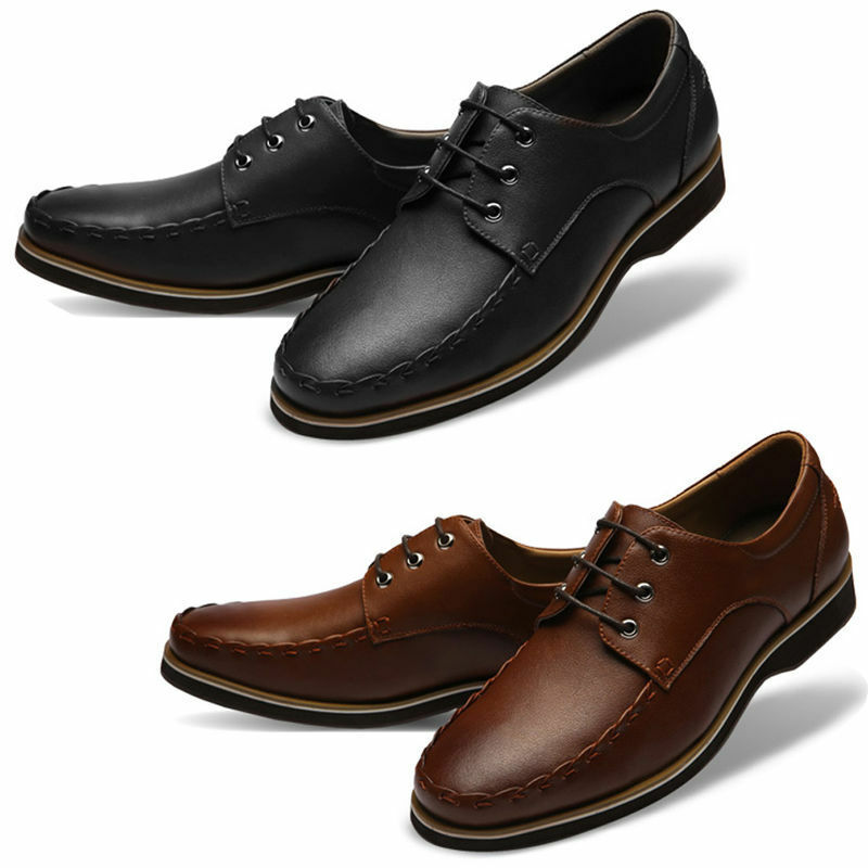 e611d673f893c7 Mooda Mens Leather shoes Classic Oxfords shoes TovL Dress Formal ...
