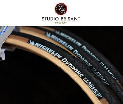 Michelin Dynamic / Fixi Reifen beige / schwarz 700x 28C + 25C + 23C