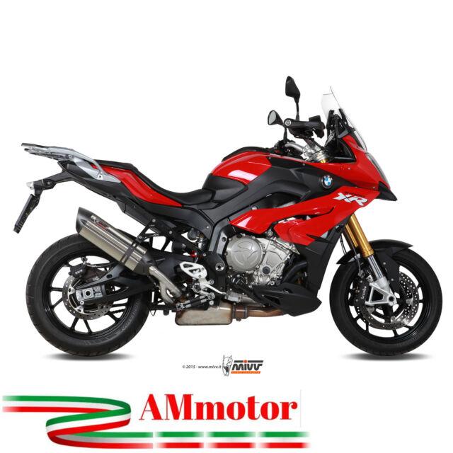 Mivv Bmw S 1000 XR 2018 18 Pot D' Echappement Moto Suono Inox High