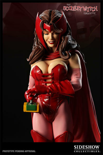Sideshow: Scarlet Witch Comiquette by Mark Brooks 1/5 Statue