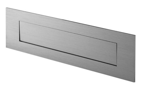 Sandleford STAINLESS STEEL LETTER PLATE Suits A4 Mail*Aust Brand 250mm Or 300mm