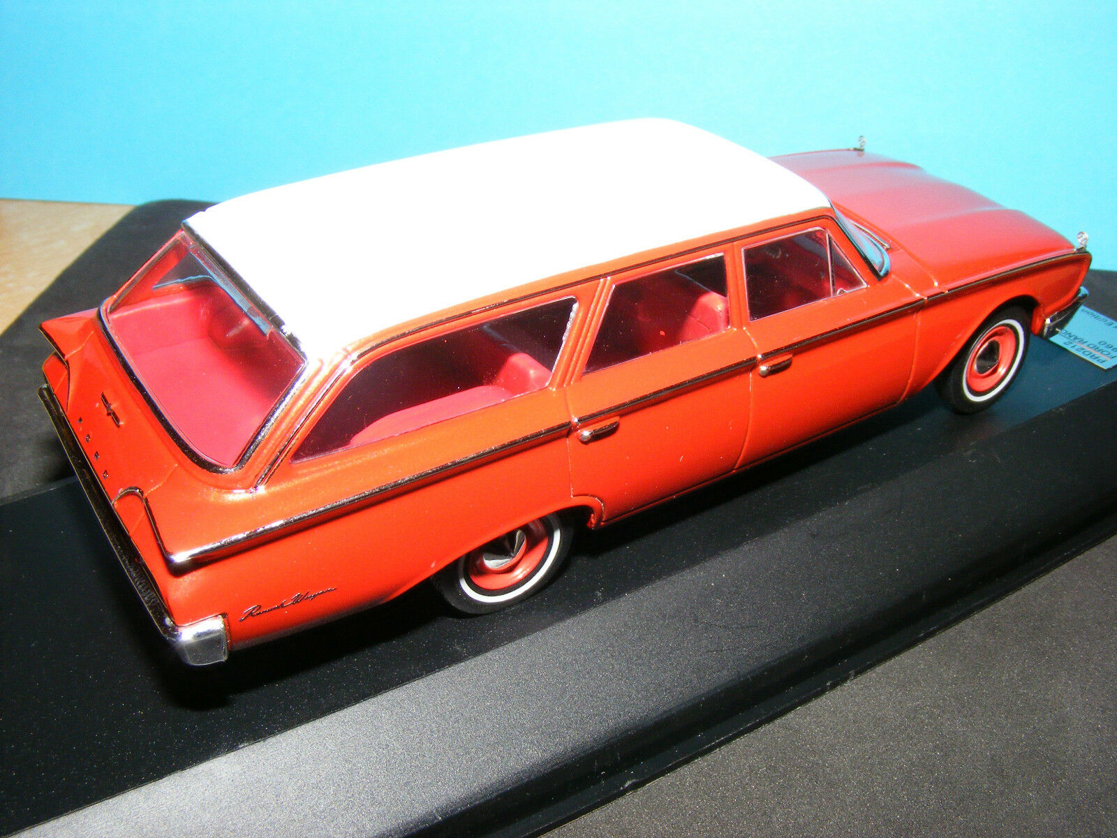 Ford Country Squire Estate Car an American Ford in Red 1 43rd. Scale  Premium X