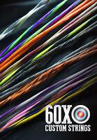 Barnett Cmx (commando Rc) Crossbow String 25 1/4 By 60x Custom Strings Bow