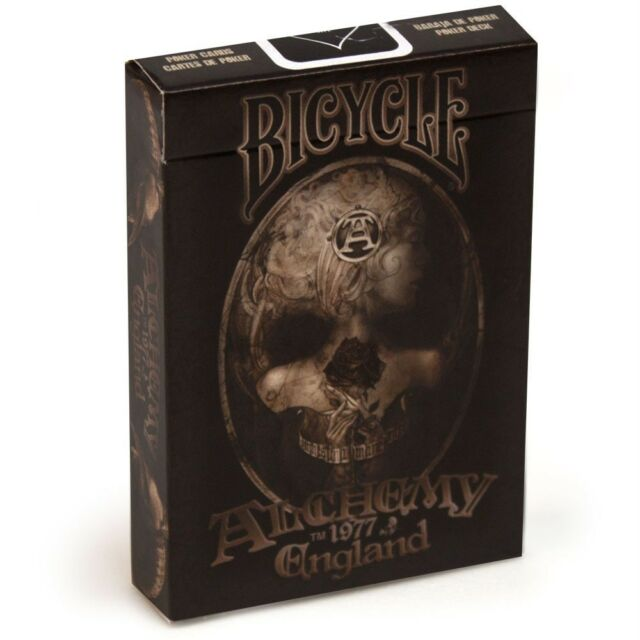 Bicycle Alchemy 1977 England  Version 2 Playing Cards New