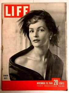 Details about Vintage Life Magazine January 19, 1948- Lauren Bacall Warfare  Coke Ad Old Ads