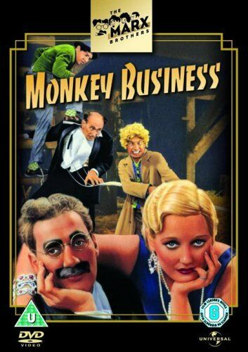 1 of 1 - The Marx Brothers: Monkey Business [DVD] - DVD  SAVG The Cheap Fast Free Post