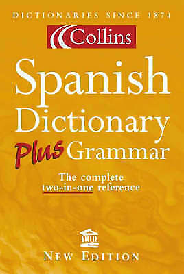Collins Spanish Dictionary Plus Grammar,  | Paperback Book | Acceptable | 978000