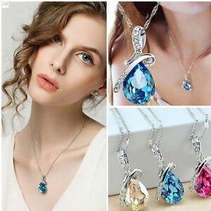 les-femmes-bijoux-de-mode-chaine-strass-cristal-cadeau-collier-pendentif-chain