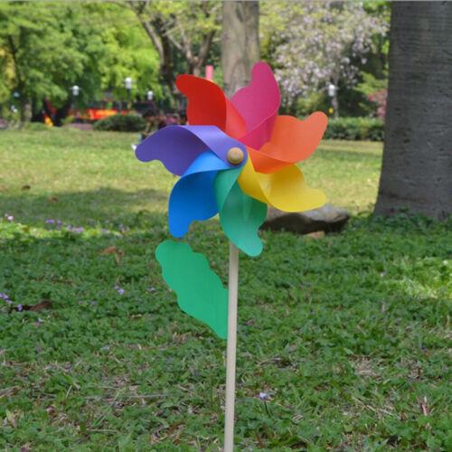 56cm Windrad Windmühle Windspiel Dekor für Hochzeit Geburtstag Taufe Partys