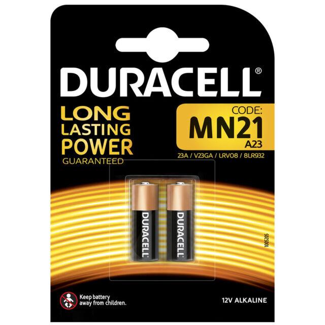 kQ Duracell Batterien Alkaline MN21 V23GA 12V 2er Blister