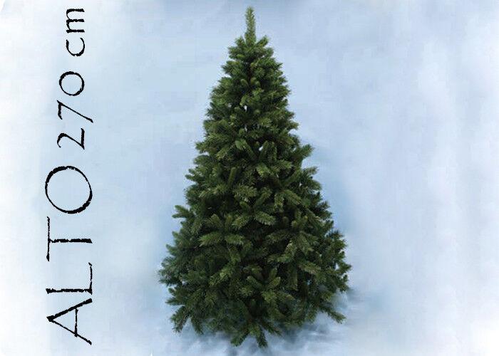 Albero Di Natale Pino Sweden Cm 270 Tips 2241 Base Cm 172 arrougeo natalizio