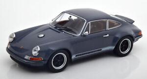 Singer-Porsche-911-Coupe-gris-oscuro-1-18-KK-scale-180442-Limited-Edition